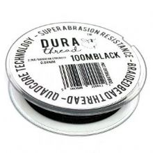 Durathread 100 Metres Black